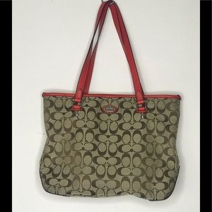 Used-Condition Coach Tote